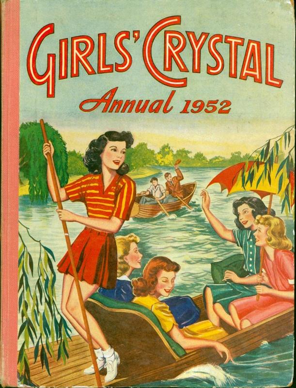 Annual: Girls' Crystal 1952 ; GWL-2017-5-3