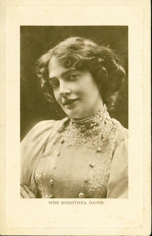 Miss Dorothea Baird; Biograph Studio; Wrench Postcards Ltd; 2016.142.14