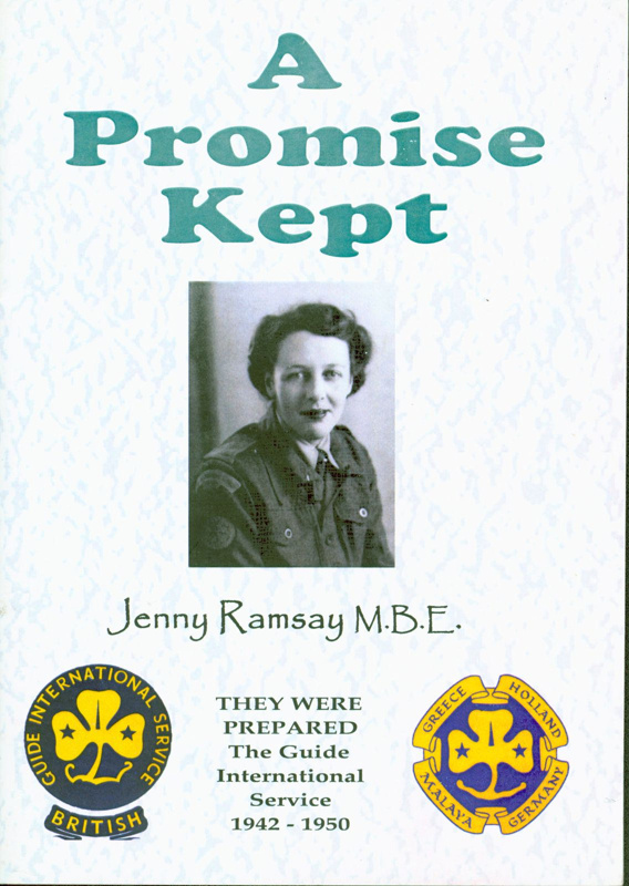"Front cover of ""A Promise Kept"" by Jenny Ramsay MBE"