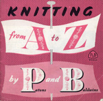 Booklet: Knitting from A to Z; Patons & Baldwins Ltd; GWL-2015-34-75