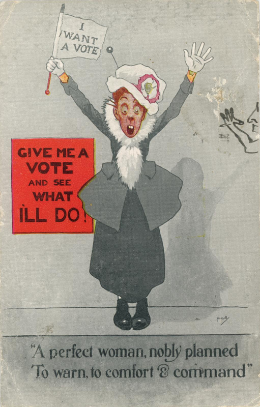 "Postcard: ""A perfect woman, nobly, planned""; J. Miles & Co Ltd; GWL-2010-64"