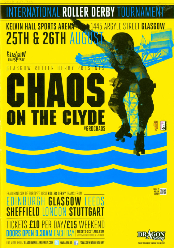 Programme: Chaos on the Clyde; 2012; GWL-2018-60-30
