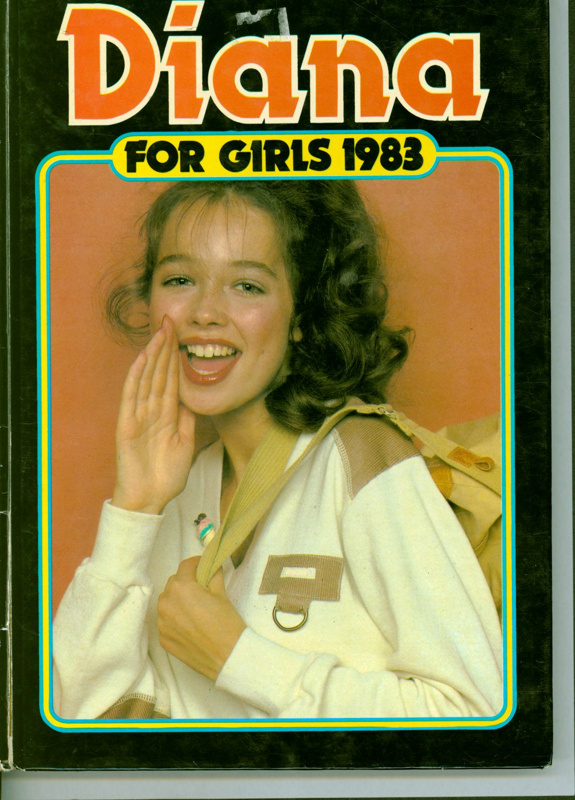 Annual: Diana for Girls 1983 ; GWL-2017-5-53