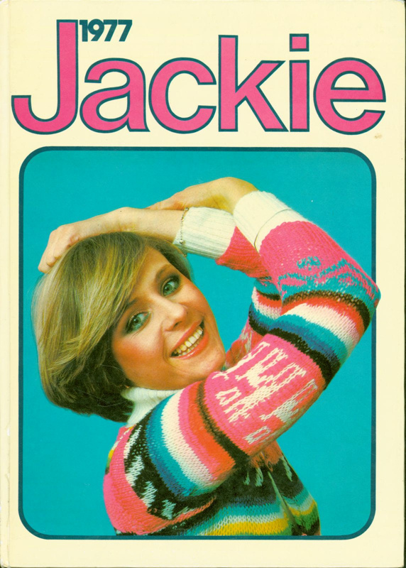 Jackie 1977Book, annual; D.C. Thomson & Co., Ltd.; 1976; 2017.5.63