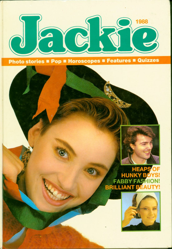 Jackie Annual 1988; D.C. Thomson & Co. Ltd; 1987; 2017.102.1