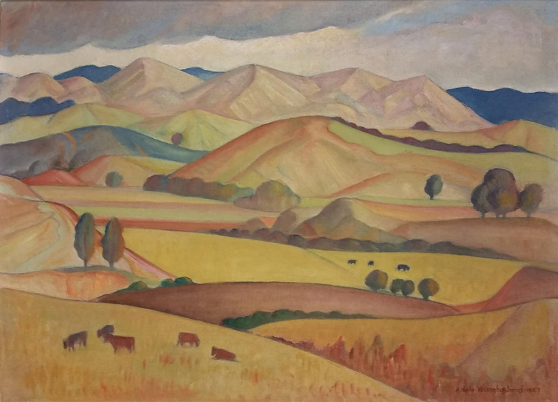 Whatawhata Valley Adele Younghusband 1957 2015 3 1 On Nz Museums