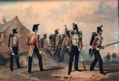 Light Infantry; Michael Angelo Hayes; OBLI:7647