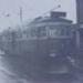 Electric tramcar no. 51 in Bluff Road, Black Rock; 1956 Jun.; P1056