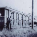 Tram trailer cars in the yards at Sandringham; 193-?; P1066