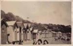 Sandringham bathing boxes.; 1941; P3962