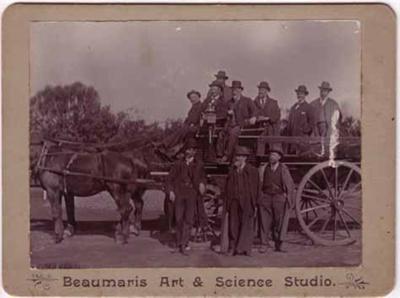 Moorabbin councillors and officers; c. 1900; P4477