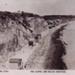 The cliffs and beach, Mentone; P1520