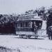 Horse tram service: a five-window and a six- window double decker.; c. 1900; P1039