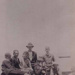 Family group in boat, Beaumaris; 1921; P0504