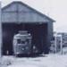 Elecric tramcar no. 51 in the tram shed.; 195-; P1069