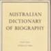 Australian dictionary of biography; 1966-2000; 522841856; S0025