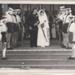 Highett Sea Rangers at wedding of Barbara Huddle (van Lambaart); 1970?; PD0002