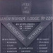 Honour board of Sandringham Lodge No. 220. Foundation members.; 197-?; P0596