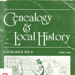 Genealogy and local history; 1988; B0117
