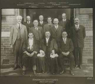 Sandringham City Councillors, March 21st 1923; 1923; P0963