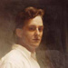 Self portrait; Latimer, Frank (1886-1974); 1991 Sept.; P2902