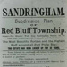 Sale leaflet for Red Bluff Township; 1896; P0876|P0877|P0878