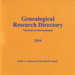 Genealogical research directory, national and international; Johnson, Keith A.; 1990-2004; S0017