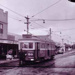 Railways tram no. 50 at Black Rock terminus; 1955?; P5436