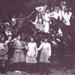 Sandringham State School, group of girls in garden setting.; c. 1923; P2959