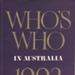 Who's who in Australia; 1962-1999; 0810-8226; S0003