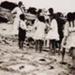 Group of children on Hampton beach; Awburn, Claude Frederick; 193-?; P1880