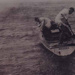 Boating around the boatsheds at Tom Woods pier, near Table Rock.; 1921; P0484