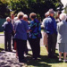 The unveiling of the Beaumaris Cemetery plaque, 22 February 1998.; Jones, Alan G. (1919-2009); 1998; P3098