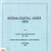 Nosological index 1863; Morgan, Marjorie; 1987; 947123008; B0493